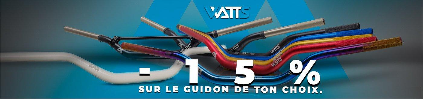 Guidon Watts 28mm en promo