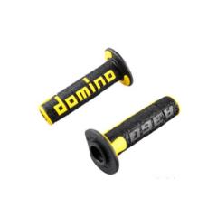 Revêtement de poignée Domino A360 noir et jaune