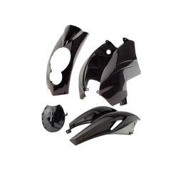 Kit carénage Tunr Peugeot Ludix compteur rectangle Noir