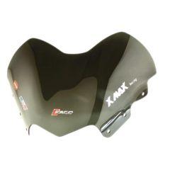 Bulle Faco courte fumé Yamaha Xmax - Skycruiser