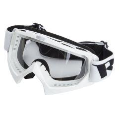 Masque Cross RC Steel Blanc
