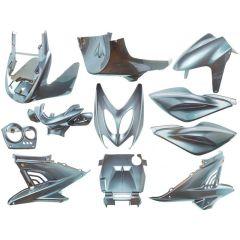Kit carénage 11 pièces AllPro MBK Nitro gris