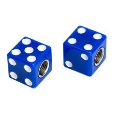 Bouchon de valve Casino Bleu