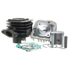Kit cylindre 70cc Barikit Fonte MBK Booster et Yamaha Bw's avec culasse