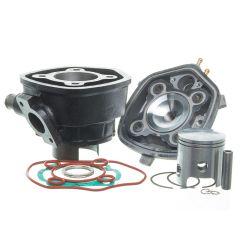 Kit cylindre 70cc Barikit Fonte MBK Nitro et Yamaha Aerox avec culasse