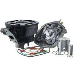 Kit cylindre 50cc Barikit Fonte MBK Nitro et Yamaha Aerox avec culasse