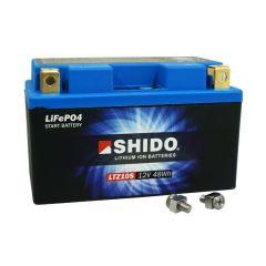 Batterie Lithium Shido LTZ10S 12V 4Ah