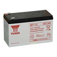Batterie Yuasa NP7-12 12V 7Ah