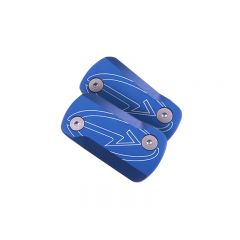 Couvercle de maître cylindre BCD Speedfight 1 et 2 Bleu Mat