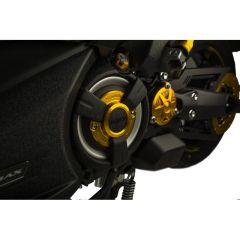Cache pignon alu CNC Puig Yamaha T-Max 560cc et 530cc