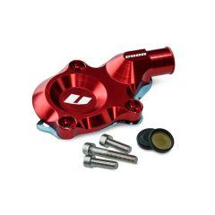 Carter de pompe à eau Voca Minarelli AM6 rouge