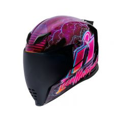 Casque intégral ICON Airflite Synthwave rose