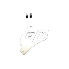 Cache pignon Doppler Minarelli AM6 argent