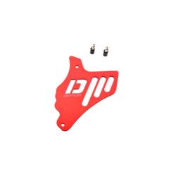 Cache pignon Doppler Minarelli AM6 rouge