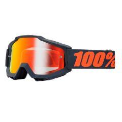 Masque cross 100% Accuri Gunmetal Miroir