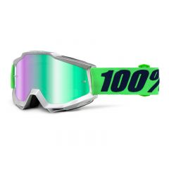Masque cross 100% Accuri Nova Miroir Vert