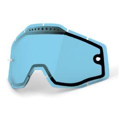 Écran de masque 100% ventilé Transparent Bleu
