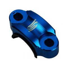 Collier de fixation levier d'embrayage SCAR bleu
