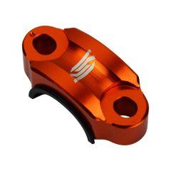 Collier de fixation levier d'embrayage SCAR orange