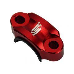 Collier de fixation levier d'embrayage SCAR rouge