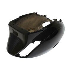 Coque arrière type origine Piaggio ZIP SP noir brillant