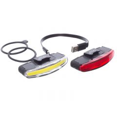 Feu avant LED et feu arrière LED rechargeable