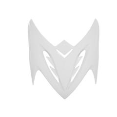 Dessus de face avant adaptable MBK Stunt blanc