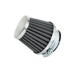 Filtre à air Replay type KN diamètre 45mm chromé