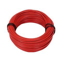 Fil électrique 1,5mm rouge 5M