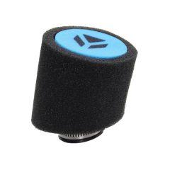 Filtre à air YCF 38mm noir et bleu
