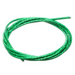 Gaine câble de gaz lazer vert 1M
