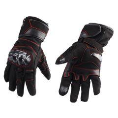 Gant Hiver Trendy Ripon homologué noir et rouge