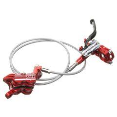 Kit de frein avant HOPE Tech 3 V4 complet rouge