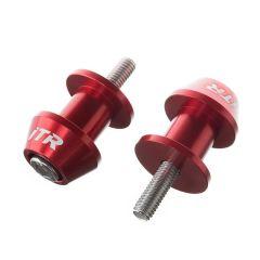 Diabolos de béquille de stand ITR rouge 8mm