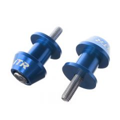 Diabolos de béquille de stand ITR bleu 6mm