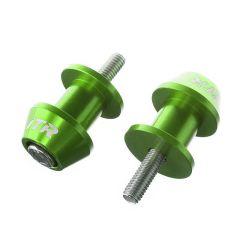 Diabolos de béquille de stand ITR vert 8mm
