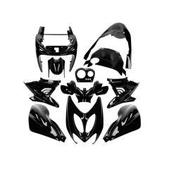 Kit carénage 11 pièces AllPro MBK Nitro noir brillant