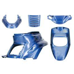 Kit carénage bleu cocktail 5 pièces MBK Booster avant 2004