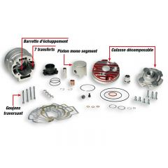 Kit cylindre 70cc Testa Rossa MBK Nitro