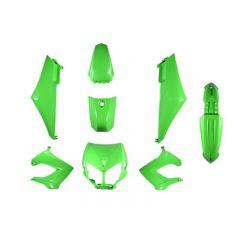 Kit carénage Derbi Senda 2000 à 2011 vert