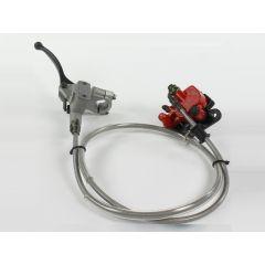 Kit de frein avant double Piston HIX rouge