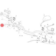 Maître cylindre de frein avant origine Rieju MRT et MRT Pro