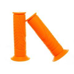 Poignée Malossi MHR orange Fluo