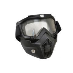 Masque casque jet Trendy T-101 Dark Knight noir mat