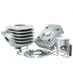 Kit cylindre 50cc Alu Metrakit MBK Ovetto, Mach G et Yamaha Neo's, Jog
