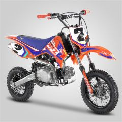 Pit Bike minicross Apollo RFZ Rookie 110cc orange 2020 semi-automatique