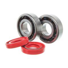 Kit roulement céramique et spi rouge de vilebrequin Most Derbi (6204 C4)
