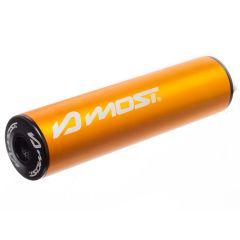 Silencieux d'échappement Most 80 / 100cc orange et noir 2020