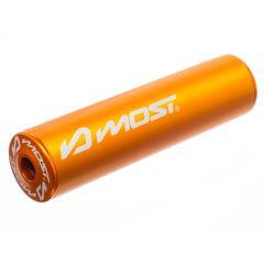 Silencieux d'échappement Most 80 / 100cc orange 2020