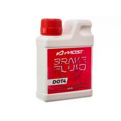 Liquide de frein Most Brake Fluid DOT 4 250mL